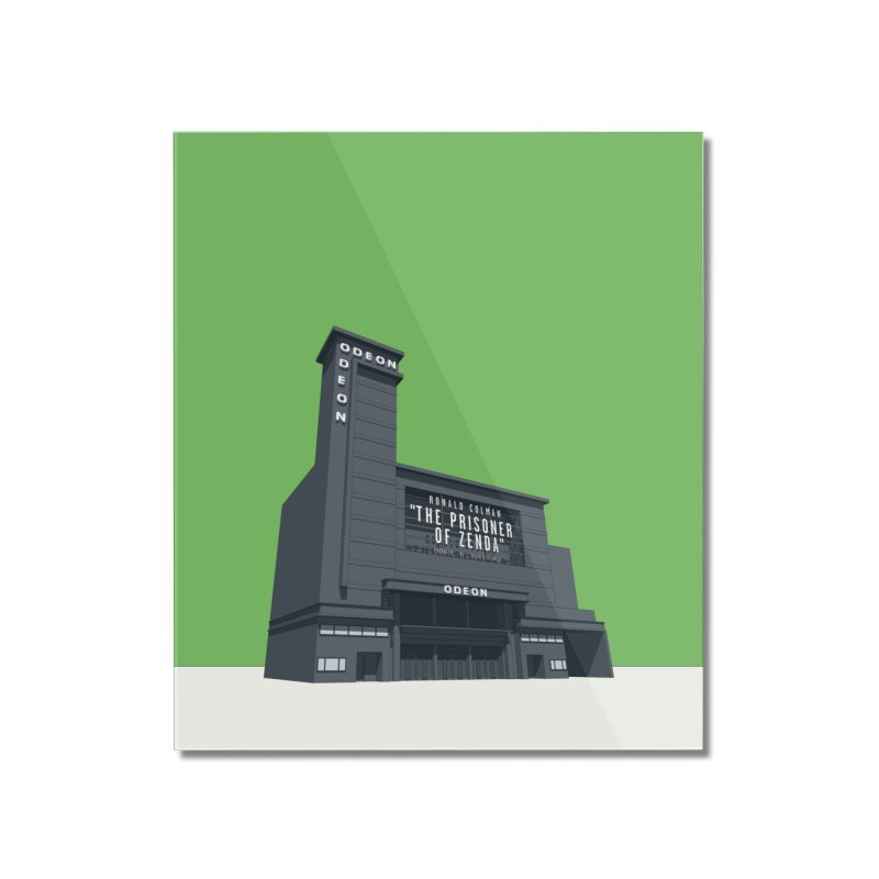 ODEON Leicester Square Home Mounted Acrylic Print by Pig's Ear Gear on Threadless