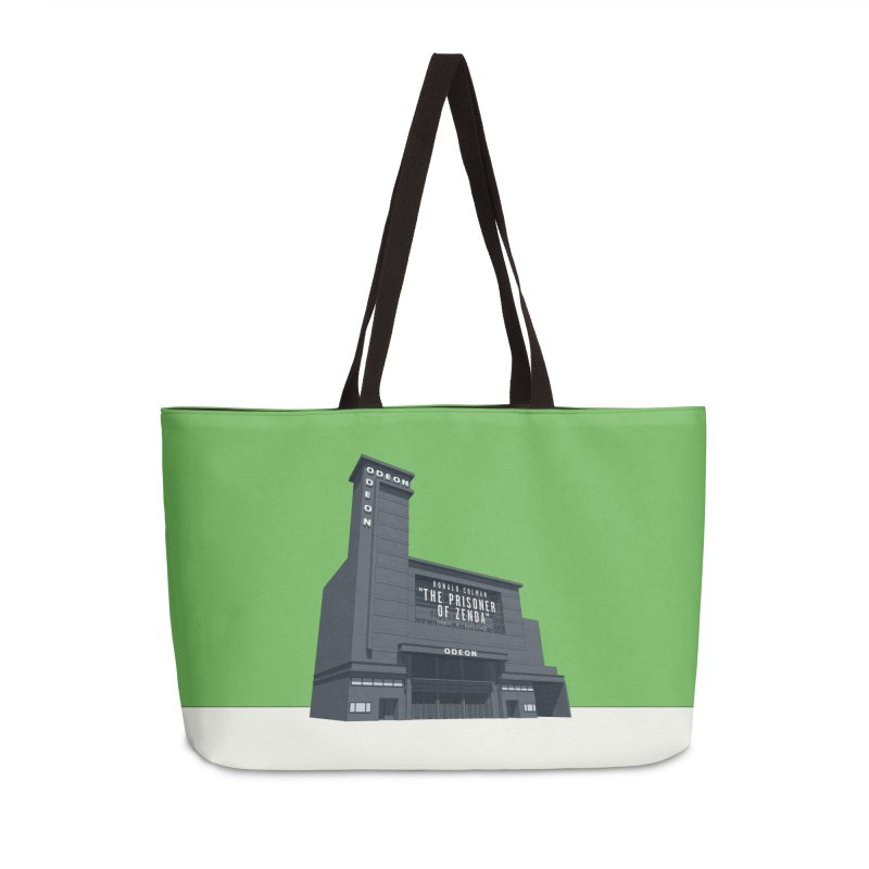 ODEON Leicester Square Accessories Weekender Bag Bag by Pig's Ear Gear on Threadless