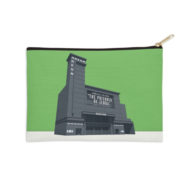 ODEON Leicester Square Accessories Zip Pouch by Pig's Ear Gear on Threadless