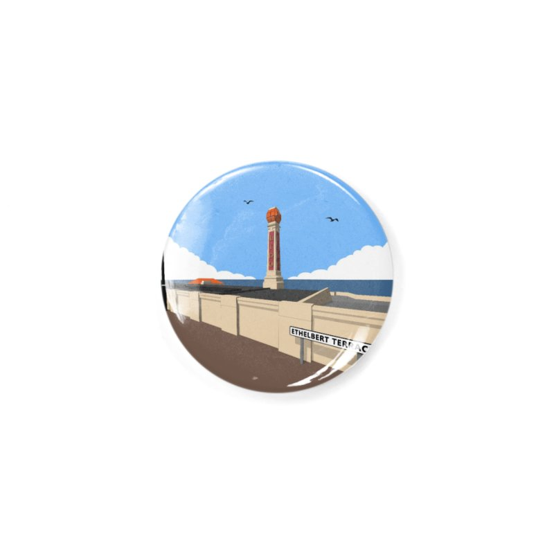Cliftonville Lido, Margate Accessories Button by Pig's Ear Gear on Threadless