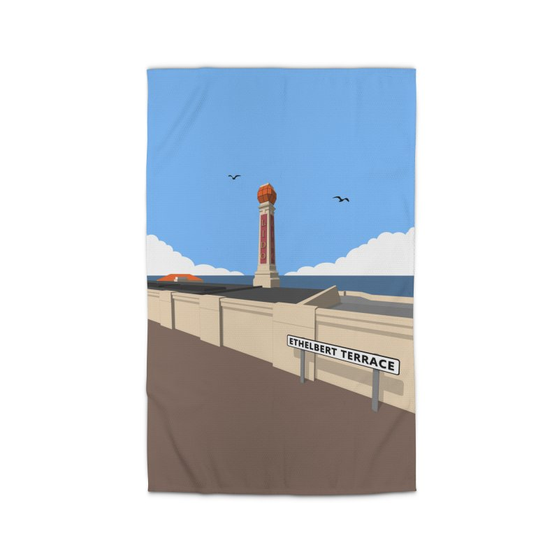 Cliftonville Lido, Margate Home Rug by Pig's Ear Gear on Threadless