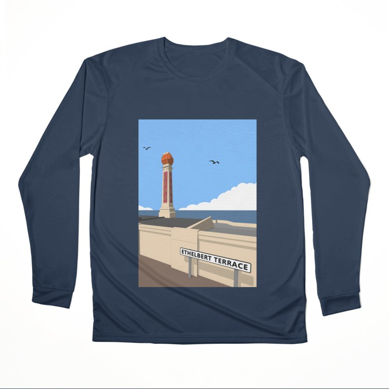 Cliftonville Lido, Margate Men's Performance Longsleeve T-Shirt by Pig's Ear Gear on Threadless