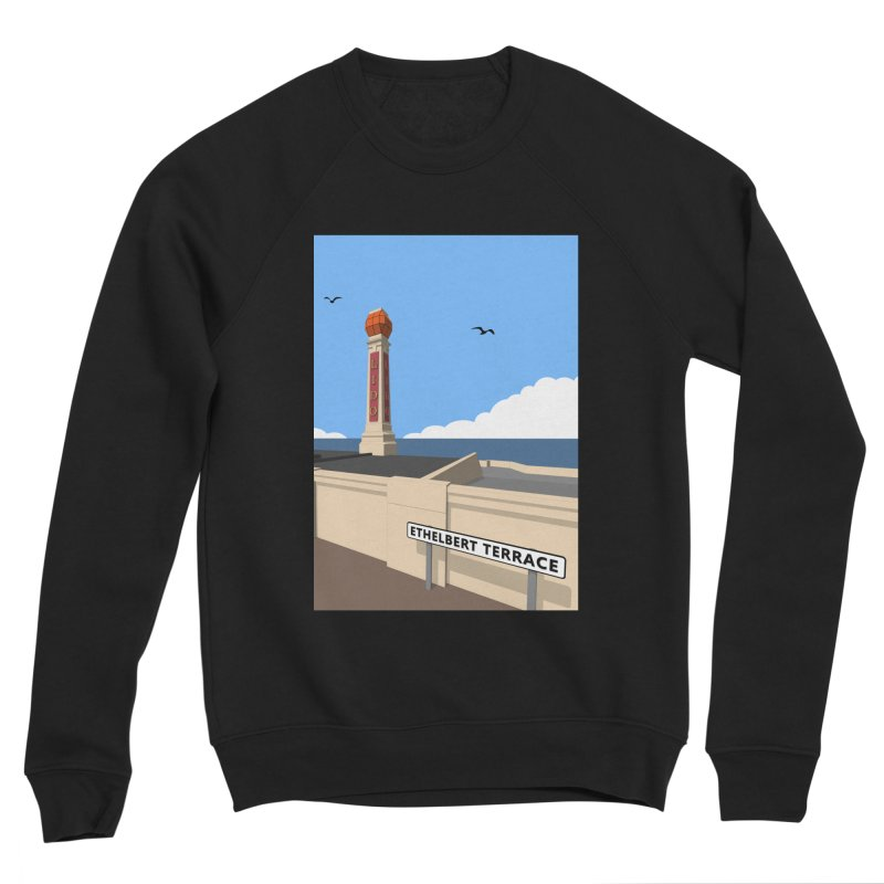 Cliftonville Lido, Margate Men's Sponge Fleece Sweatshirt by Pig's Ear Gear on Threadless