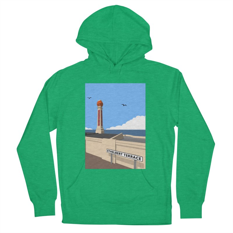 Cliftonville Lido, Margate Women's French Terry Pullover Hoody by Pig's Ear Gear on Threadless