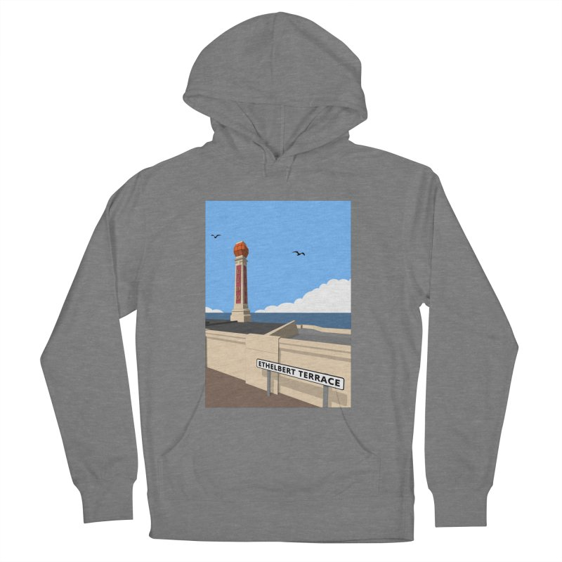 Cliftonville Lido, Margate Men's French Terry Pullover Hoody by Pig's Ear Gear on Threadless