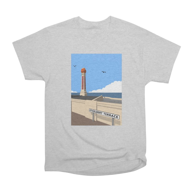 Cliftonville Lido, Margate Men's Heavyweight T-Shirt by Pig's Ear Gear on Threadless