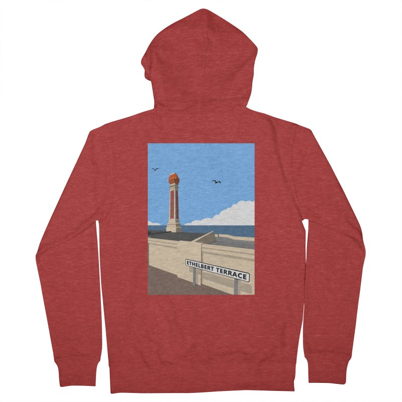 Cliftonville Lido, Margate Women's French Terry Zip-Up Hoody by Pig's Ear Gear on Threadless