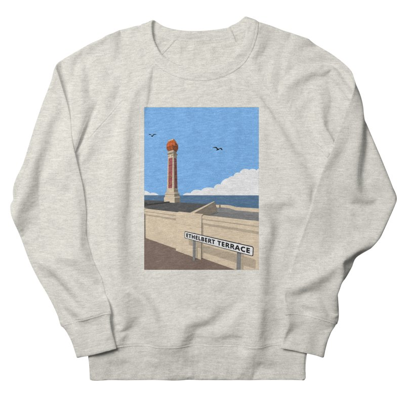 Cliftonville Lido, Margate Women's French Terry Sweatshirt by Pig's Ear Gear on Threadless