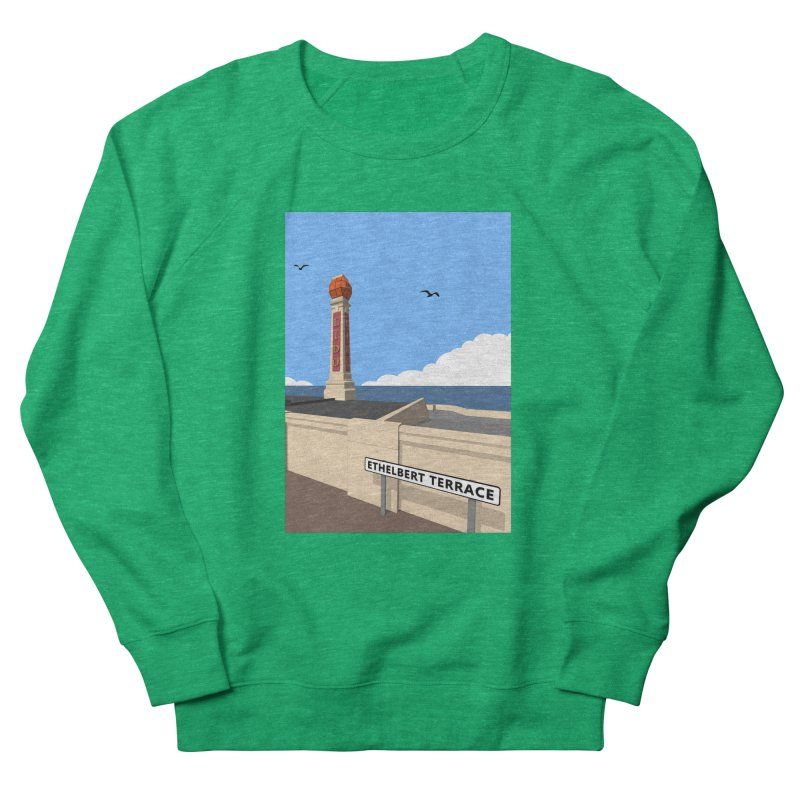 Cliftonville Lido, Margate Men's French Terry Sweatshirt by Pig's Ear Gear on Threadless