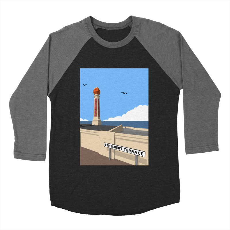 Cliftonville Lido, Margate Women's Baseball Triblend Longsleeve T-Shirt by Pig's Ear Gear on Threadless