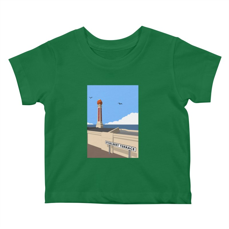 Cliftonville Lido, Margate Kids Baby T-Shirt by Pig's Ear Gear on Threadless