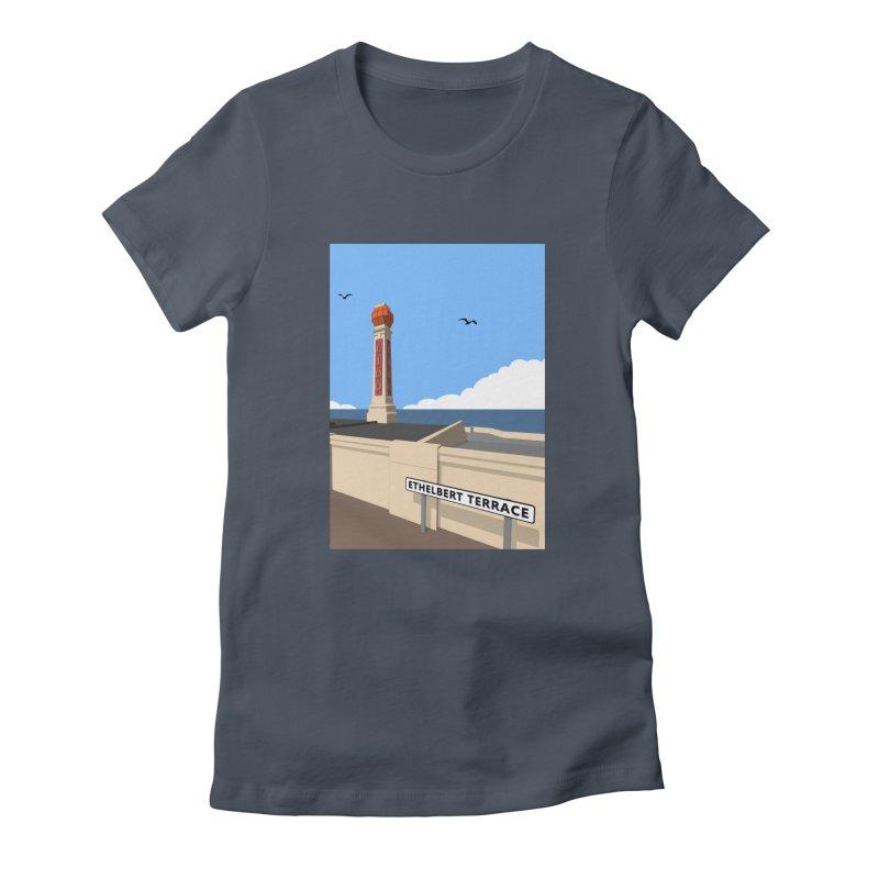 Cliftonville Lido, Margate Women's T-Shirt by Pig's Ear Gear on Threadless