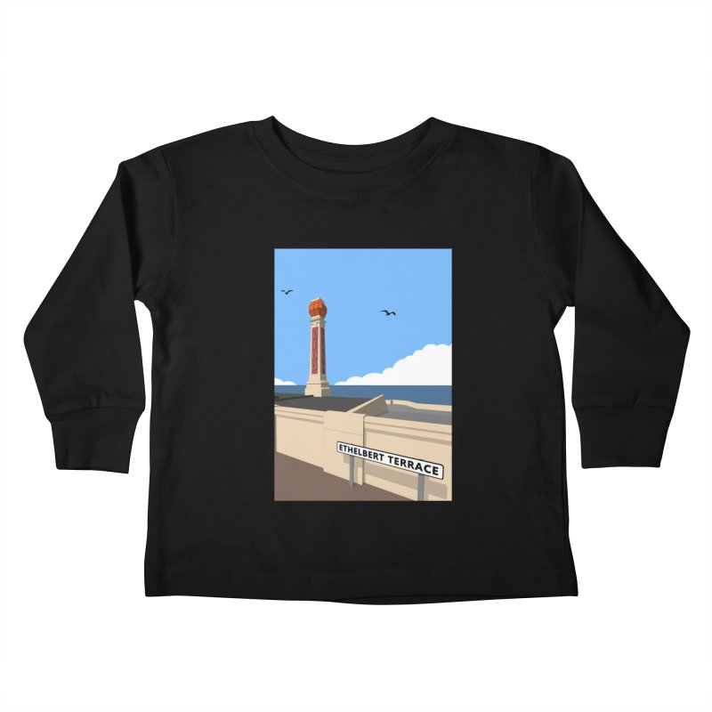 Cliftonville Lido, Margate Kids Toddler Longsleeve T-Shirt by Pig's Ear Gear on Threadless