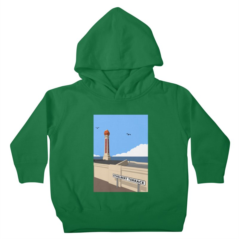 Cliftonville Lido, Margate Kids Toddler Pullover Hoody by Pig's Ear Gear on Threadless