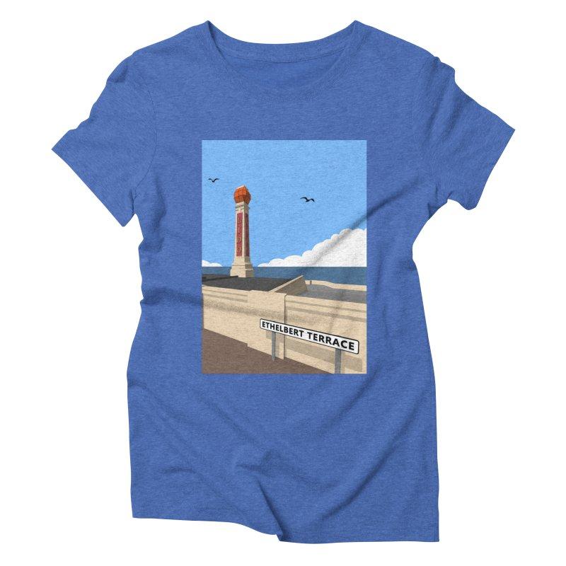 Cliftonville Lido, Margate Women's Triblend T-Shirt by Pig's Ear Gear on Threadless