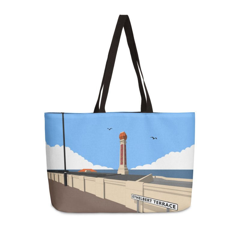 Cliftonville Lido, Margate Accessories Weekender Bag Bag by Pig's Ear Gear on Threadless