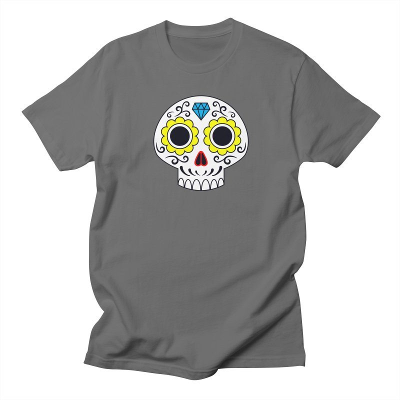 Sugar Skull for a cake Men's T-Shirt by Pig's Ear Gear on Threadless