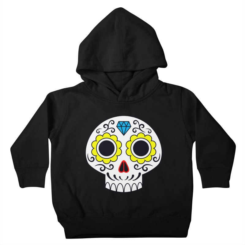 Sugar Skull for a cake Kids Toddler Pullover Hoody by Pig's Ear Gear on Threadless