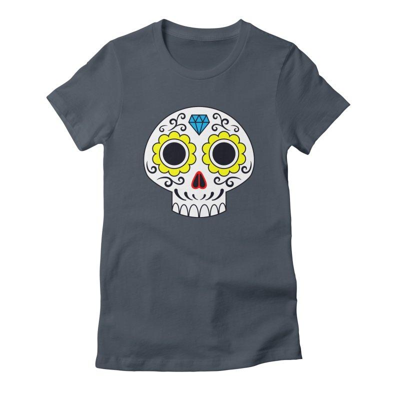 Sugar Skull for a cake Women's T-Shirt by Pig's Ear Gear on Threadless