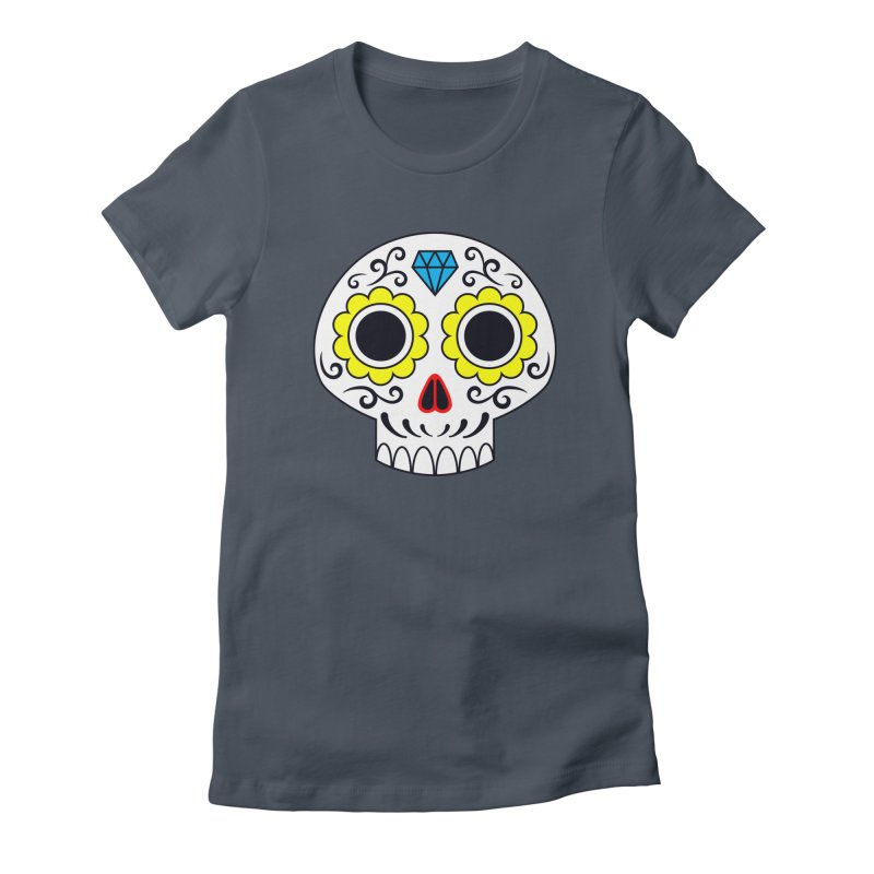 Sugar Skull for a cake Women's T-Shirt by Pig's Ear Gear on Threadless
