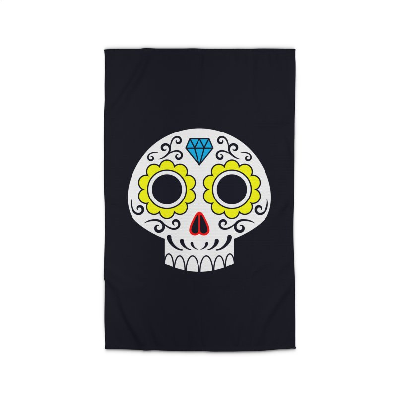 Sugar Skull for a cake Home Rug by Pig's Ear Gear on Threadless