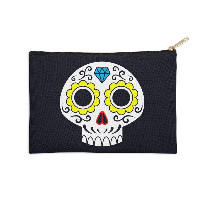 Sugar Skull for a cake Accessories Zip Pouch by Pig's Ear Gear on Threadless