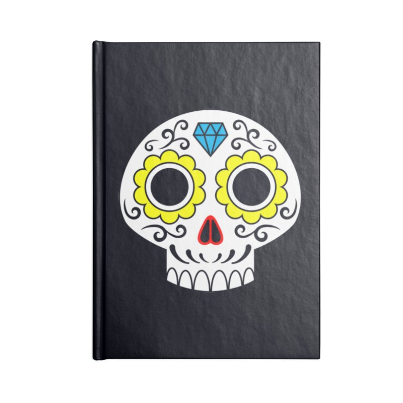 Sugar Skull for a cake Accessories Notebook by Pig's Ear Gear on Threadless