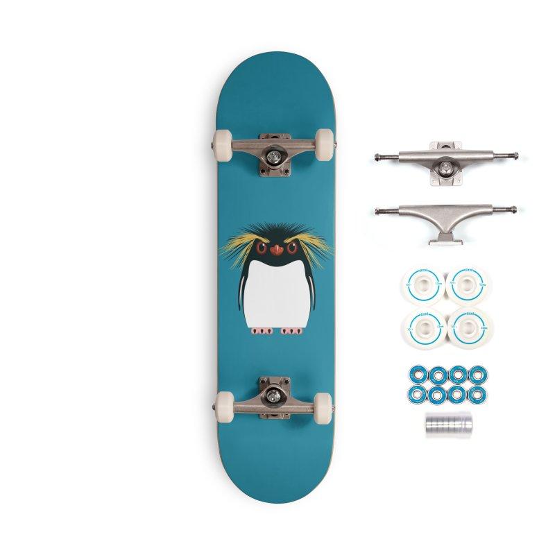 Rockhopper Penguin Accessories Skateboard by Pig's Ear Gear on Threadless