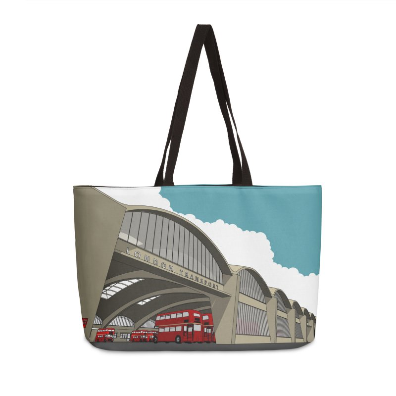 Stockwell Bus Garage 1952 Accessories Bag by Pig's Ear Gear on Threadless
