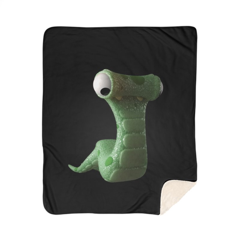 Guido Home Sherpa Blanket Blanket by Pig's Ear Gear on Threadless