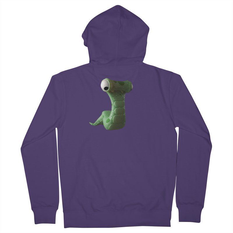 Guido Women's French Terry Zip-Up Hoody by Pig's Ear Gear on Threadless