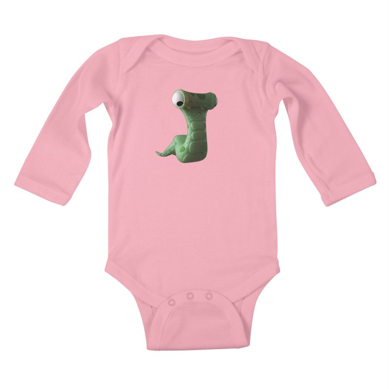 Guido Kids Baby Longsleeve Bodysuit by Pig's Ear Gear on Threadless