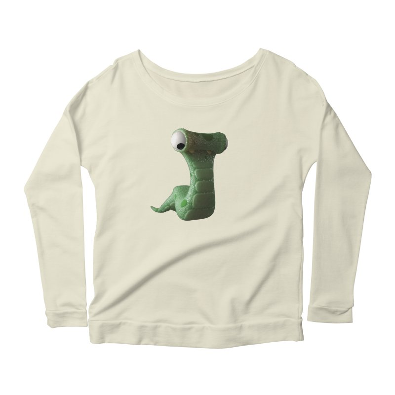 Guido Women's Scoop Neck Longsleeve T-Shirt by Pig's Ear Gear on Threadless