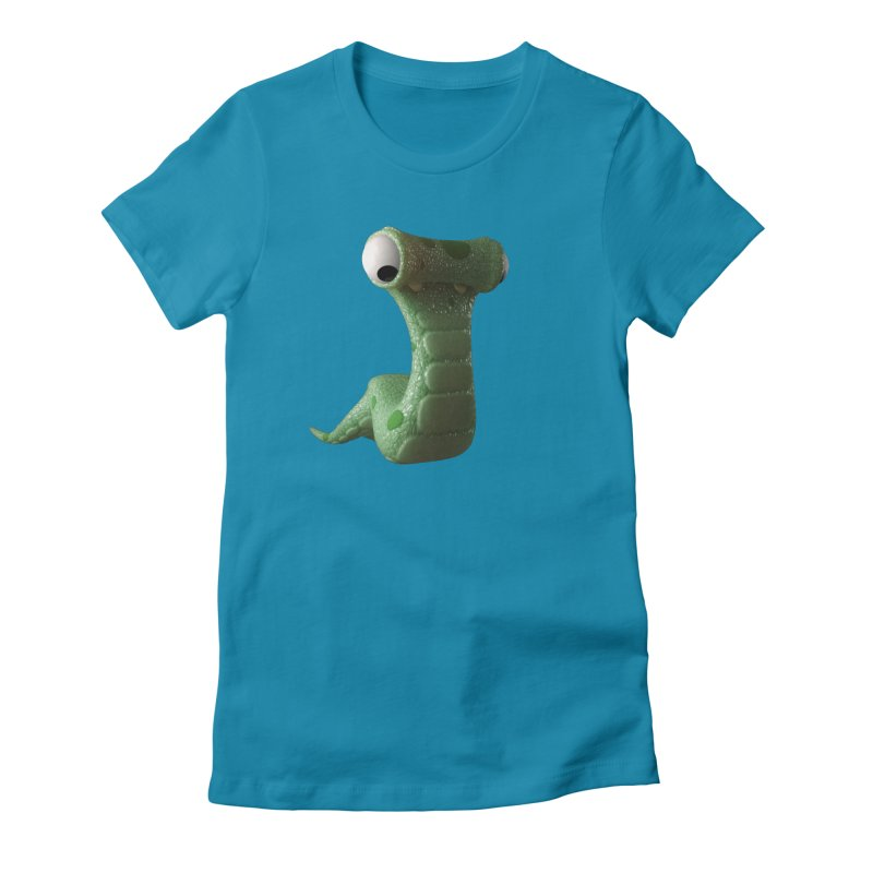 Guido Women's Fitted T-Shirt by Pig's Ear Gear on Threadless