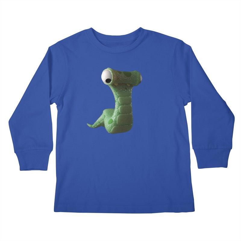 Guido Kids Longsleeve T-Shirt by Pig's Ear Gear on Threadless