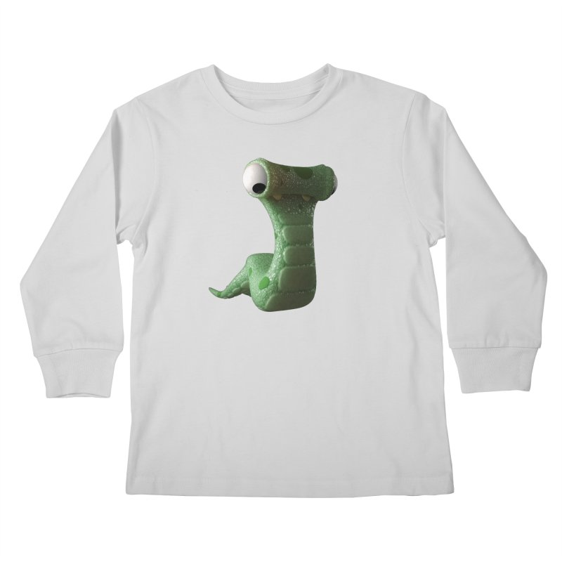 Guido Kids Longsleeve T-Shirt by Pig's Ear Gear on Threadless