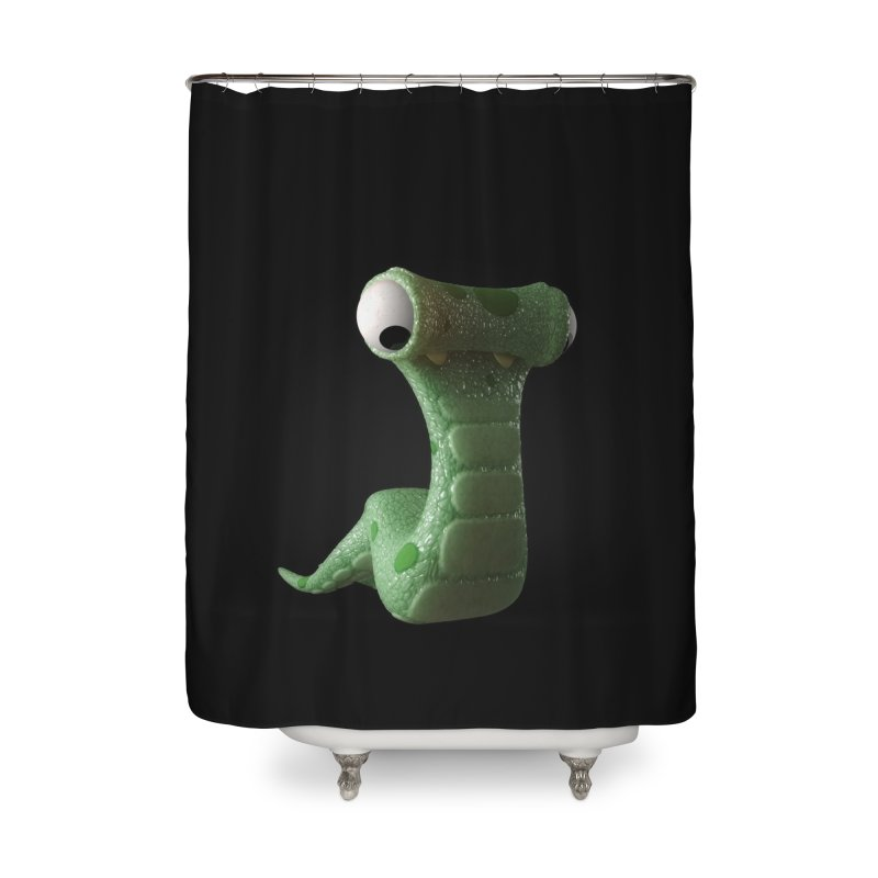 Guido Home Shower Curtain by Pig's Ear Gear on Threadless