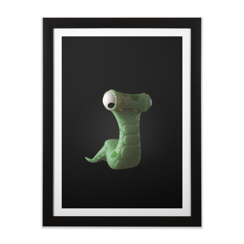 Guido Home Framed Fine Art Print by Pig's Ear Gear on Threadless