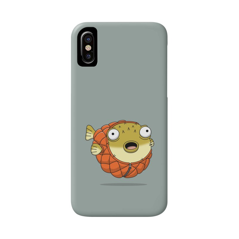 Puffer Fish Accessories Phone Case by Pig's Ear Gear on Threadless
