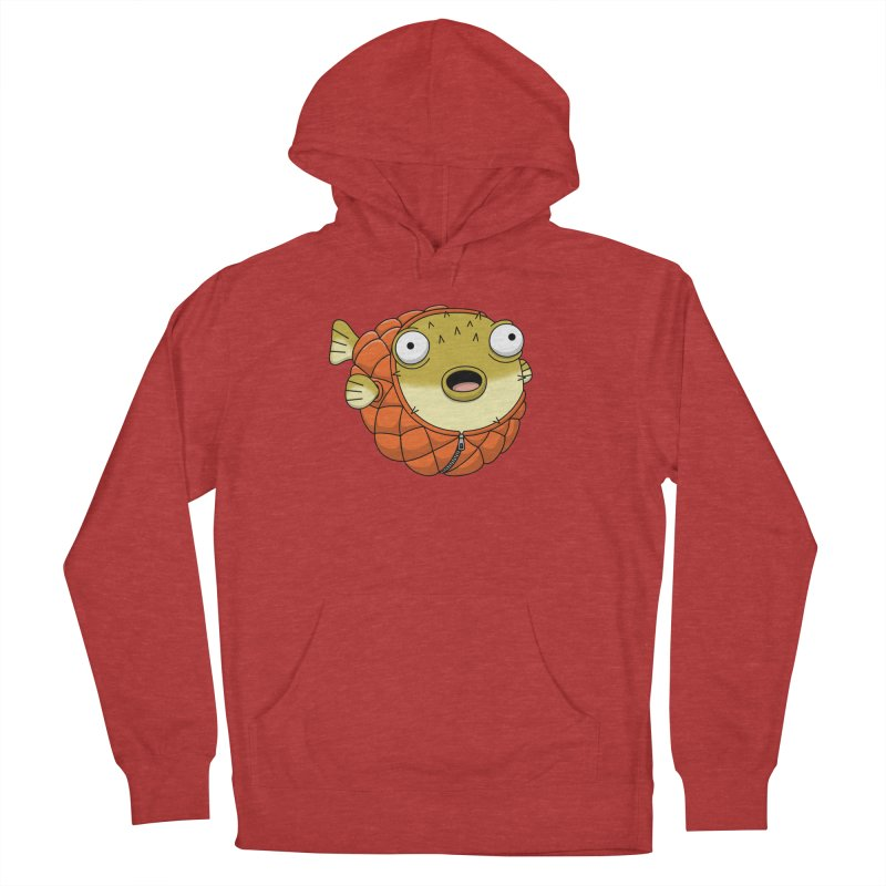 Puffer Fish Men's French Terry Pullover Hoody by Pig's Ear Gear on Threadless