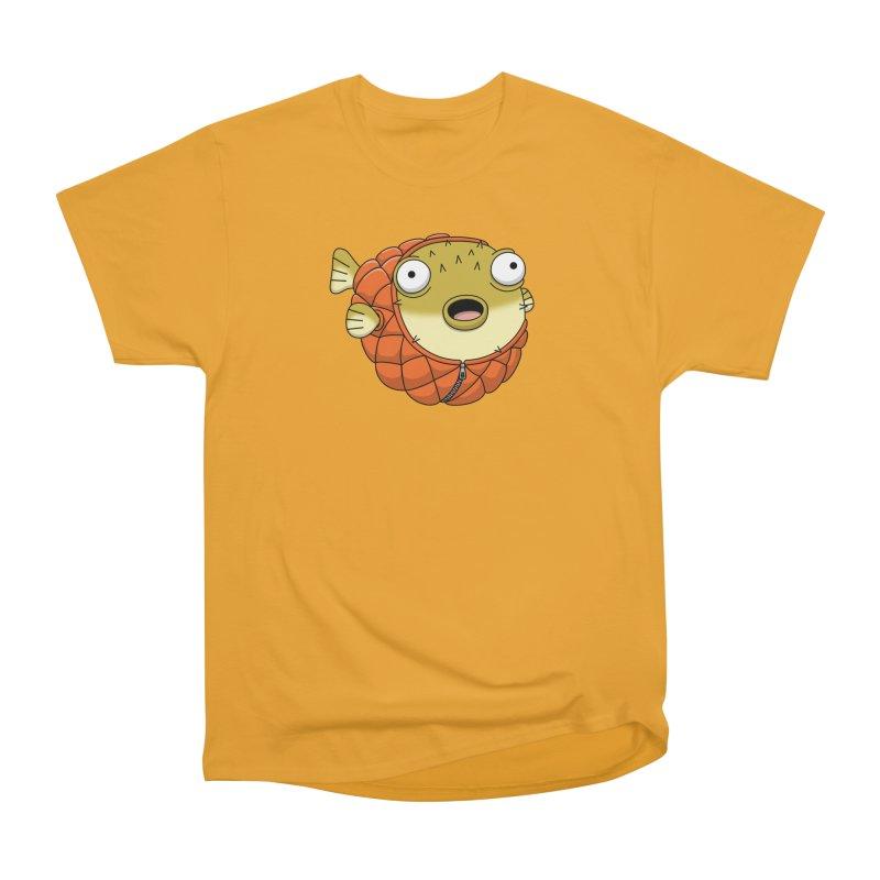 Puffer Fish Women's Heavyweight Unisex T-Shirt by Pig's Ear Gear on Threadless