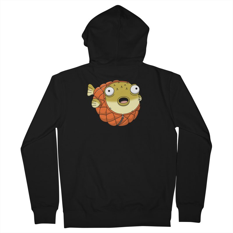 Puffer Fish Women's French Terry Zip-Up Hoody by Pig's Ear Gear on Threadless