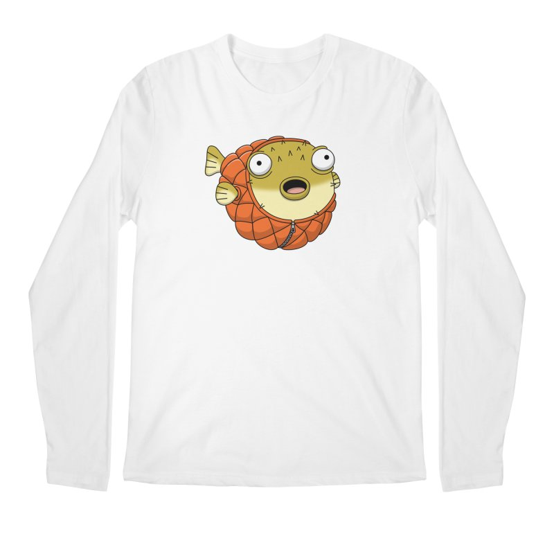 Puffer Fish Men's Longsleeve T-Shirt by Pig's Ear Gear on Threadless