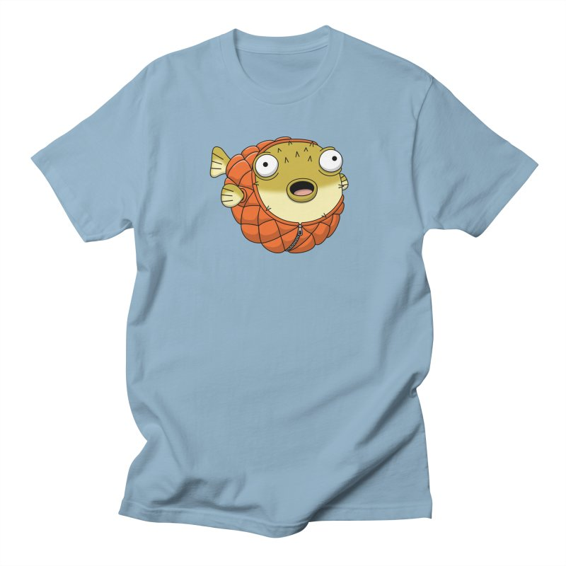 Puffer Fish Men's T-Shirt by Pig's Ear Gear on Threadless