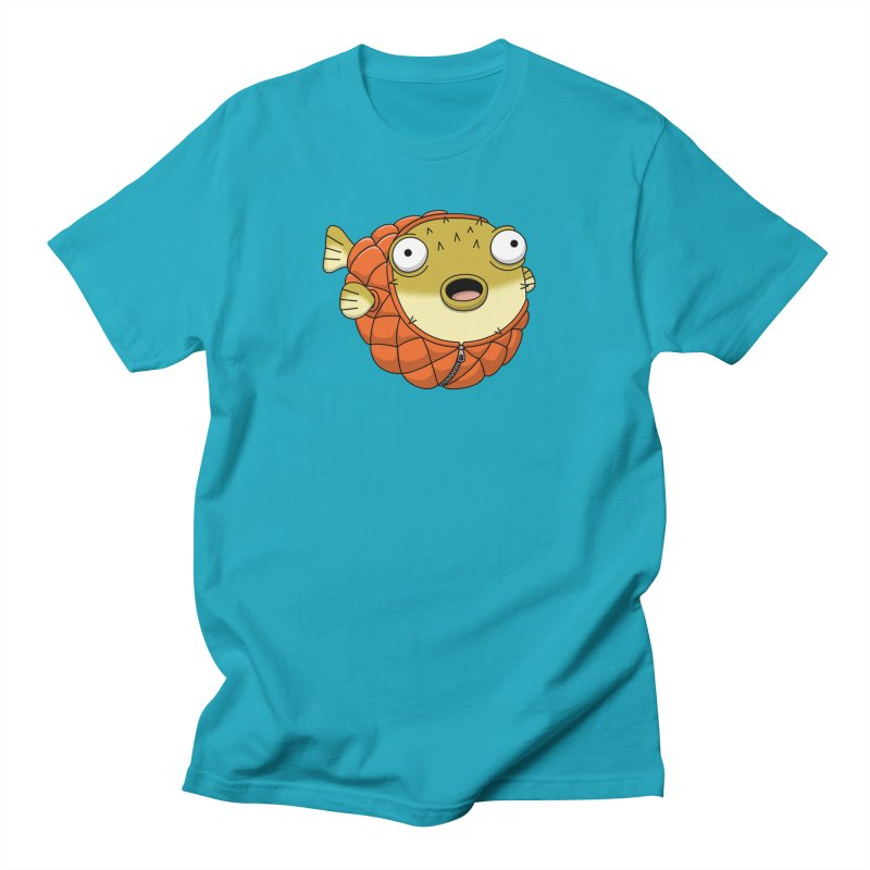 Puffer Fish Men's Regular T-Shirt by Pig's Ear Gear on Threadless