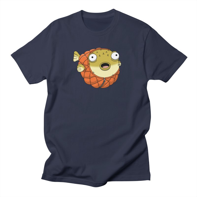 Puffer Fish Women's Regular Unisex T-Shirt by Pig's Ear Gear on Threadless