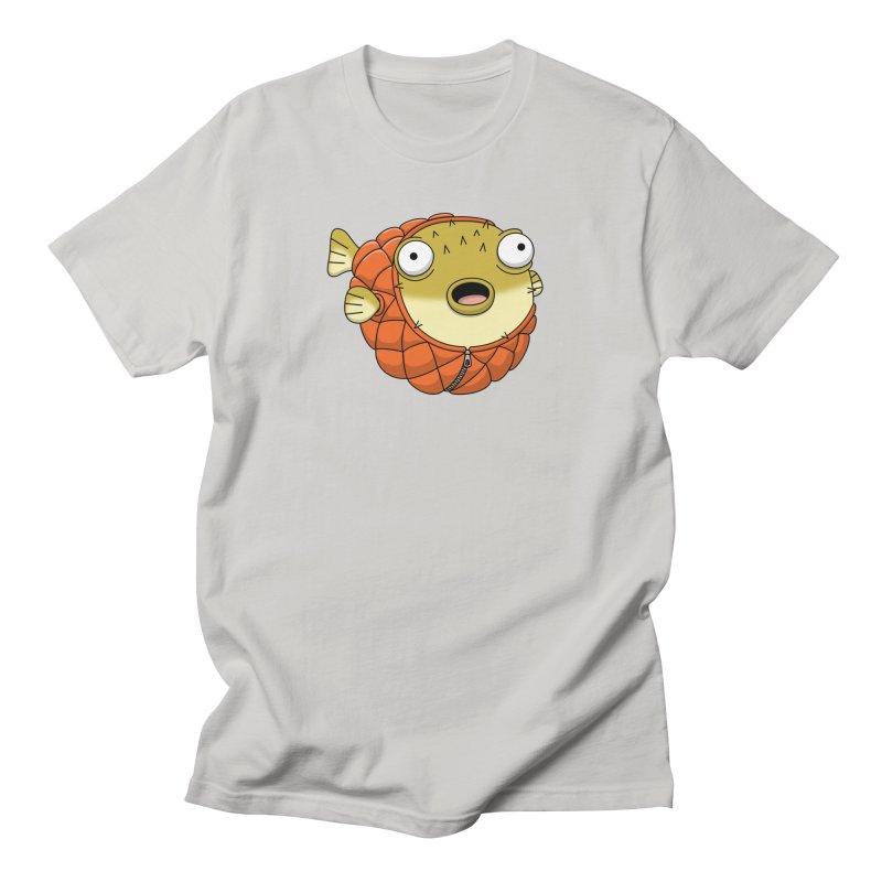 Puffer Fish Women's Regular Unisex T-Shirt by Pig's Ear Gear on Threadless