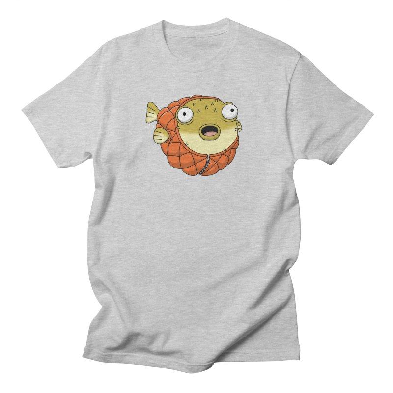 Puffer Fish Men's Regular T-Shirt by Pig's Ear Gear on Threadless