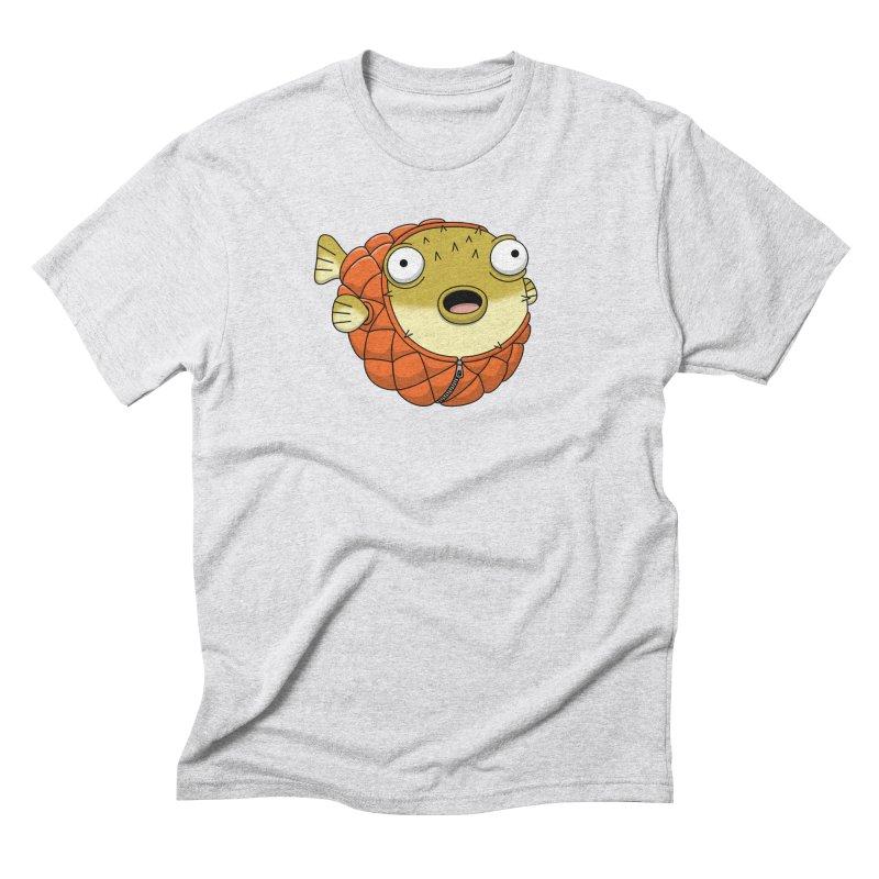 Puffer Fish Men's Triblend T-Shirt by Pig's Ear Gear on Threadless