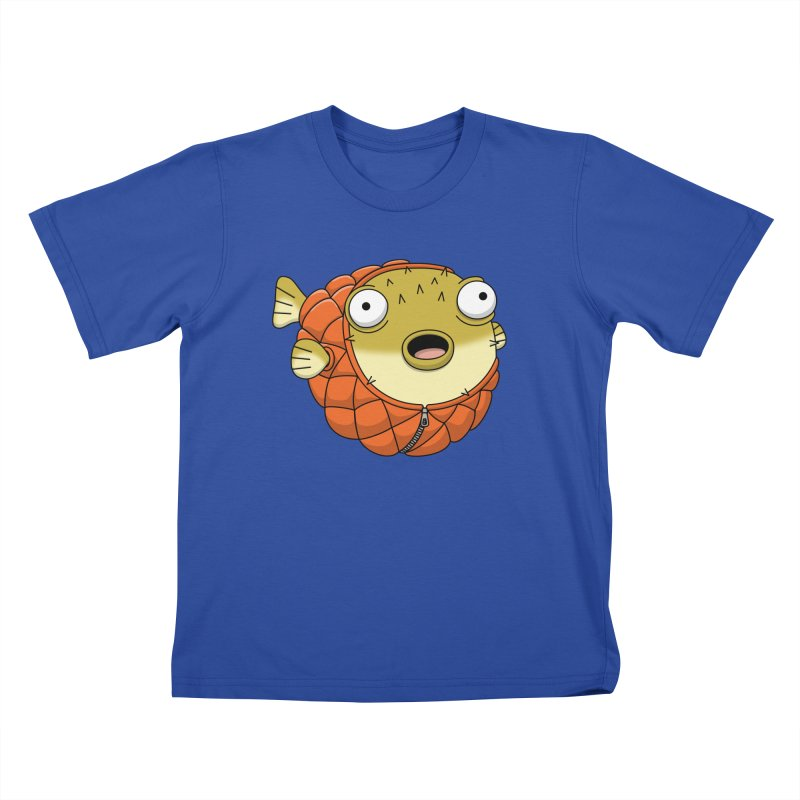 Puffer Fish Kids  by Pig's Ear Gear on Threadless